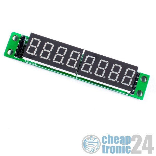 7 Segment Anzeige Display MAX7219 LED