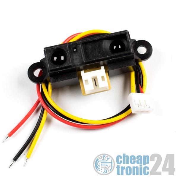 Infrarot Sensor GP2Y0A21YK0F Abstandssensor IR + Kabel Arduino Raspberry