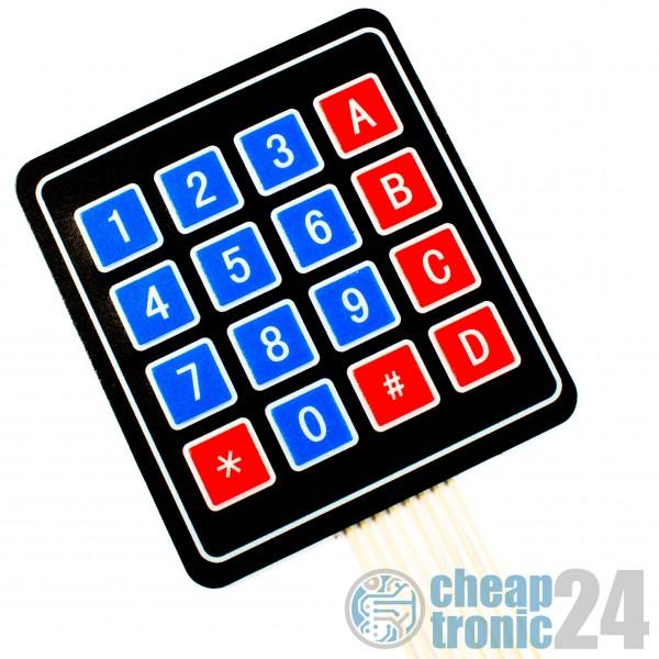 4x4 Matrix Tastatur Keypad