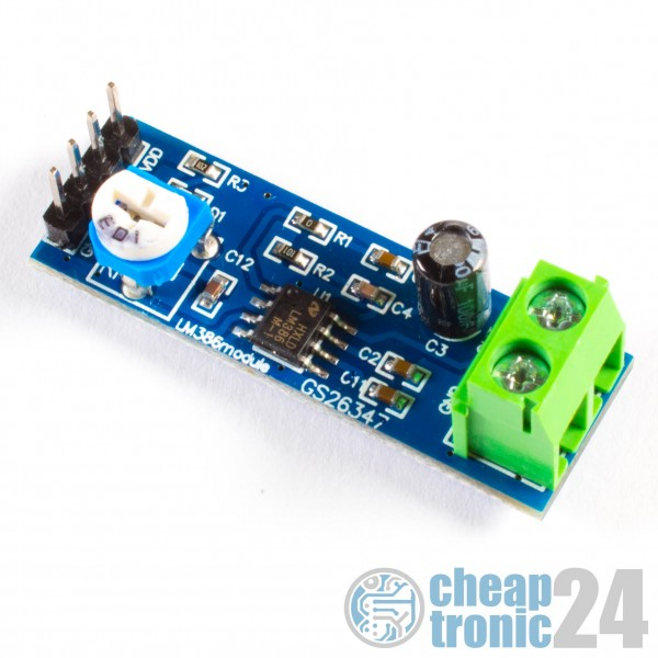 LM386 Audioverstärker Module Audio Verstärker Amplifier Module Arduino Raspberry