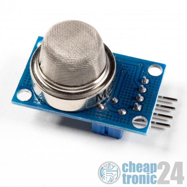 MQ-5 Gas Sensor Modul LPG CO CH4 H2 Alkohol