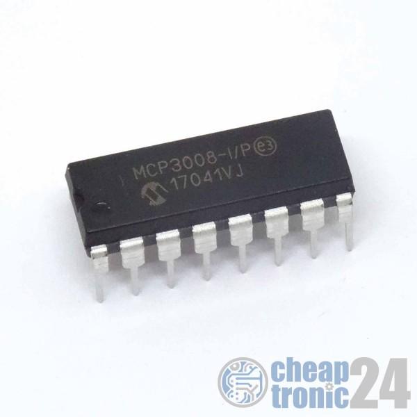 MCP3008 10-Bit A/D Wandler