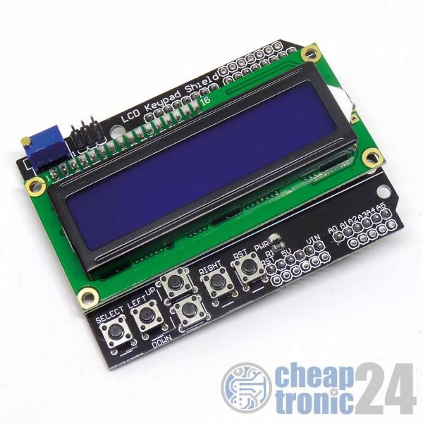 LCD1602 Keypad Shield HD44780