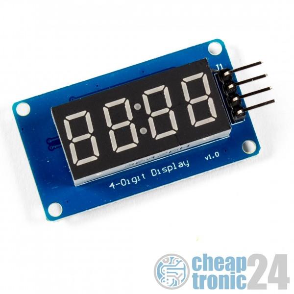 TM1637 7 Segment LED Anzeige Uhr