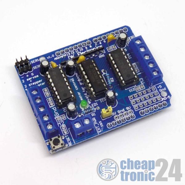 Motor Treiber Shield L293D für Arduino Uno / MEGA2560