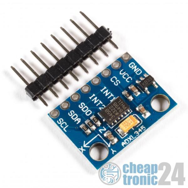 GY-291 ADXL345 3-Achs Beschleunigungssensor Gyroskop Arduino Raspberry