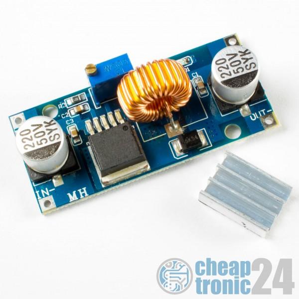 XL4015 Step Down Wandler 36V/5A Spannungregler DC/DC Arduino