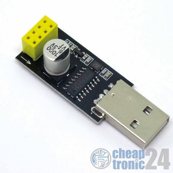 USB zu ESP8266 seriell Adapter ESP01 Programmierer ESP UART Arduino