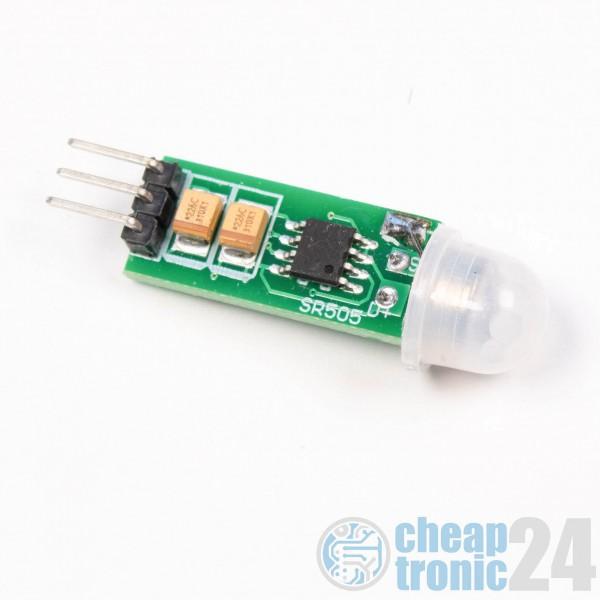 HC-SR505 PIR Infrarot Mini Sensormodul Body Sensing Modus Mini Body Sensor