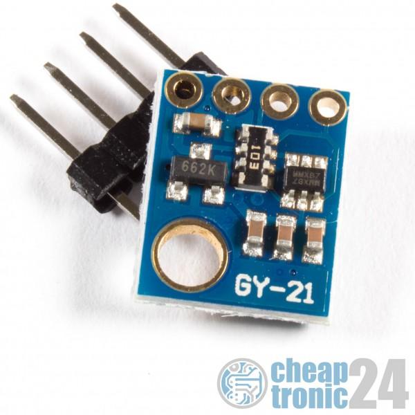 GY-21 Luftfeuchte Temperatursensor Si7021 Humidity Arduino Raspberry Pi